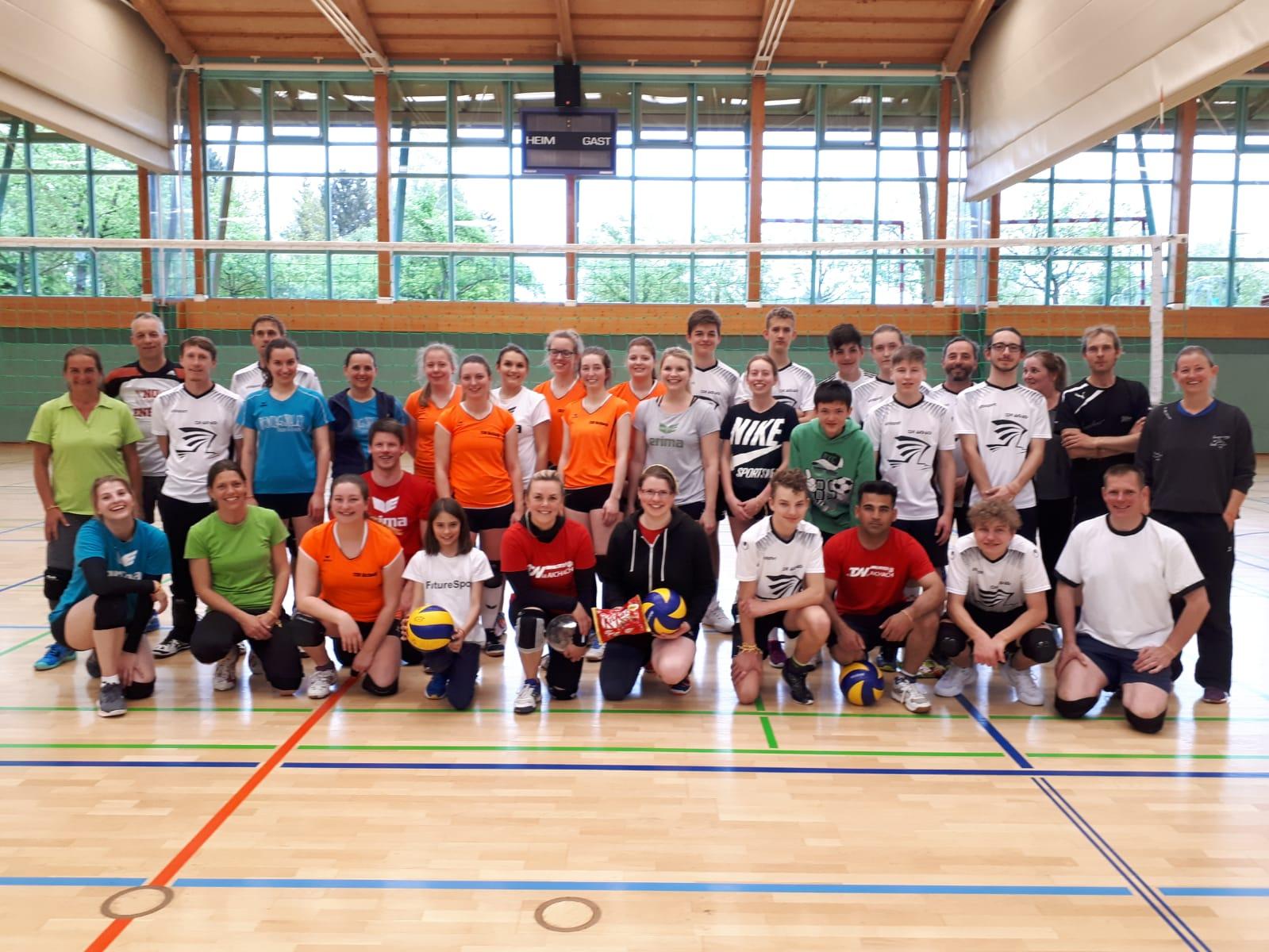Hauptbild Abteilung Volleyball