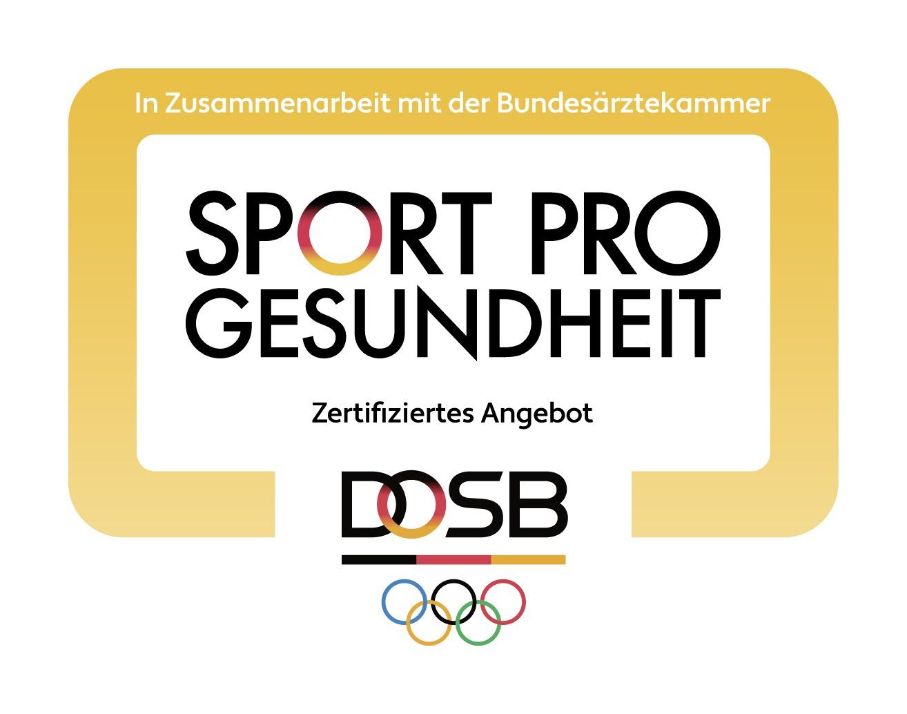 Sport pro Gesundheit